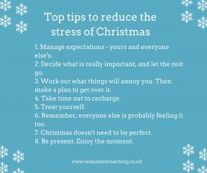 Stop Christmas Stress