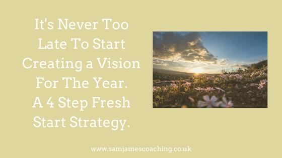 4 step Fresh Start Strategy
