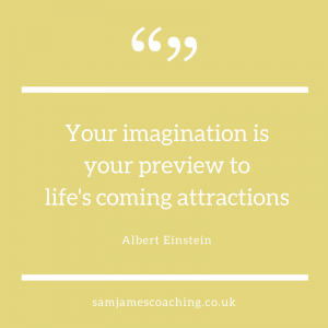 Imagination is your preview of life Einstein