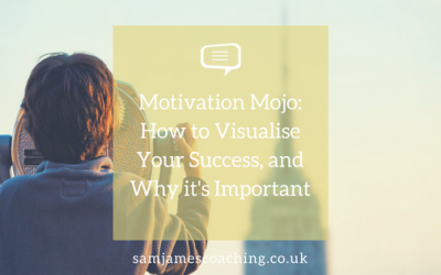 Motivation Mojo: How to Visualise Your Success, and Why it's Important