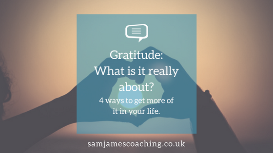 Gratitude- What is it really about