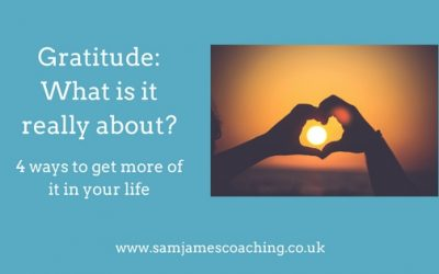 Gratitude: What is it really about?