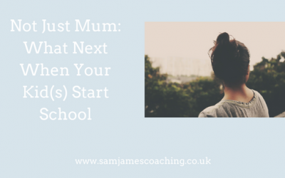 Not Just Mum: What Next When Your Kid(s) Start School