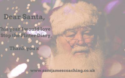 Dear Santa, I would love a Stop the Flitter Diary 2017