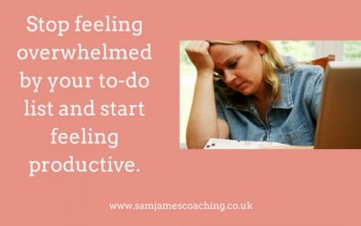 Stop feeling overwhelmed by your to-do list and start feeling productive