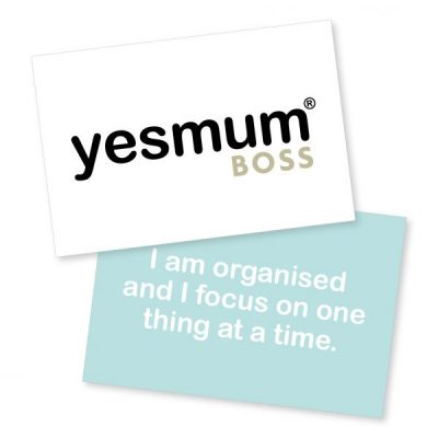 Yes Mum Cards Boss