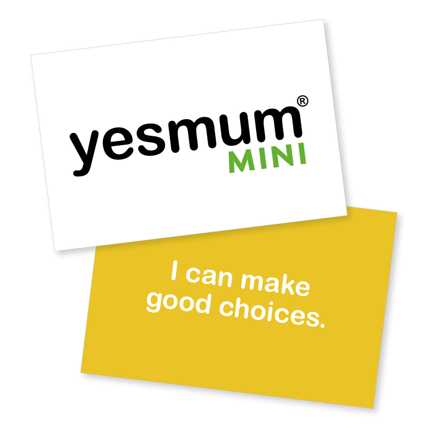 Yes Mum Cards - Mini