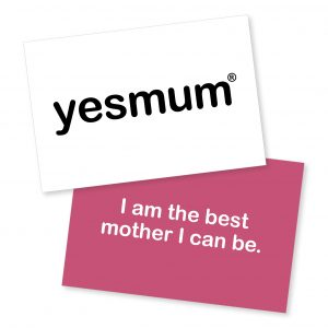 Yes Mum Cards Original for Motherhood