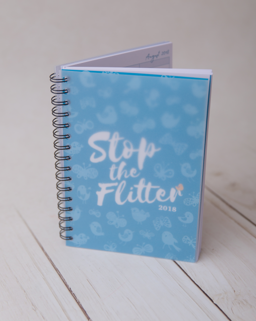 Stop the Flitter Diary 2018