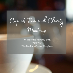 Cup of tea & clarity meet-up