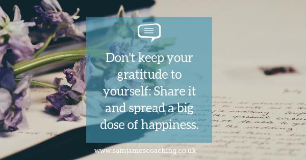 Write a Gratitude letter