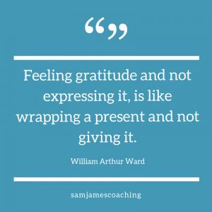 expressing gratitude