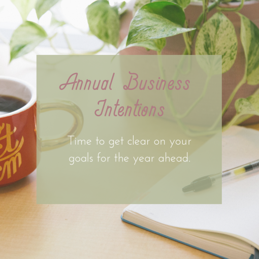 Annual Business Intentions