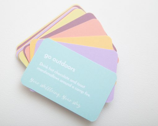 Go outdoors - wellbeing cards