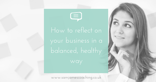 Reflect on business