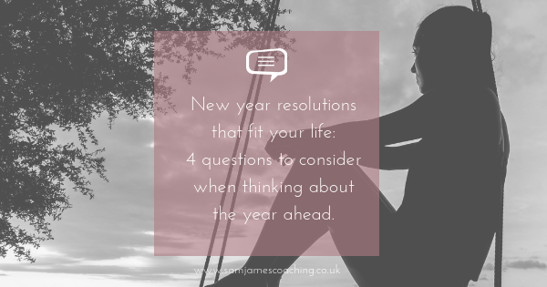 new years resolutions that fit into life